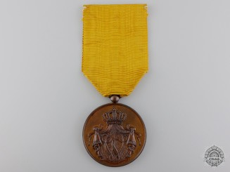 A Dutch Army Long Service Medal: Bronze Grade