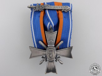 A Dutch Cross for Rights and Freedom; Korea Clasp