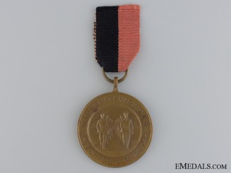 Netherlands. An  N.S.S.A.P. March of 1938 Medal