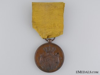 A Dutch Navy Long Service Medal for Officers