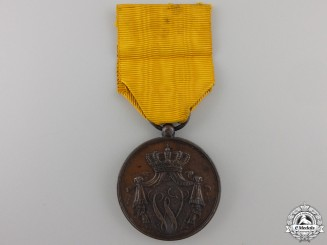 A Dutch Navy Long Service Medal