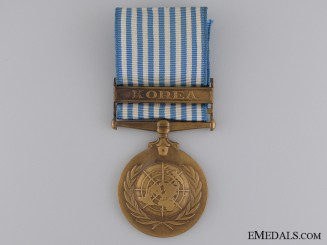 A Dutch U.N. Korean War Medal