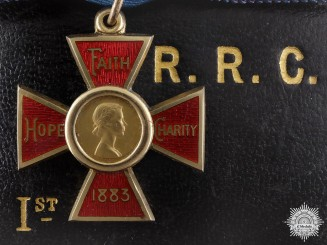 A Elizabeth II Royal Red Cross; First Class