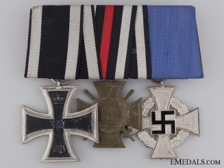A Faithful Service German Medal Bar