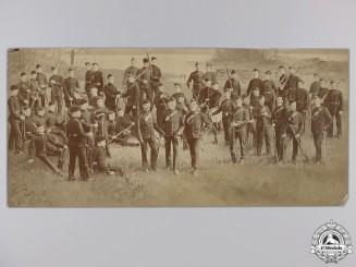 A Fenian Raid Period Queen's Own Rifles Collage Photograph
