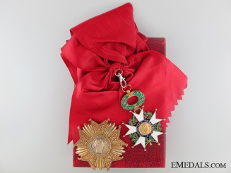 A Fifth Republic Legion D'Honneur Grand Cross