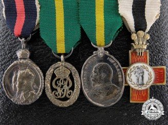 A Fine Edward VII Miniature Group
