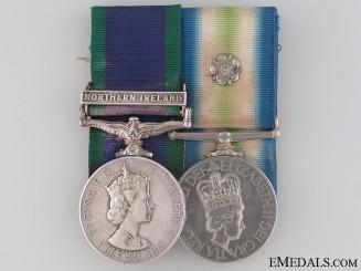 A Fine Falklands Pair to the Scots Guards