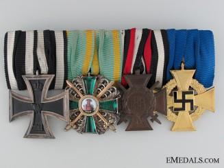 A Fine First War Period Medal Bar