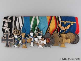 A Fine Imperial & Third Reich Medal Bar