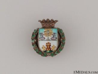 A Fine Lugo Province Lapel Badge