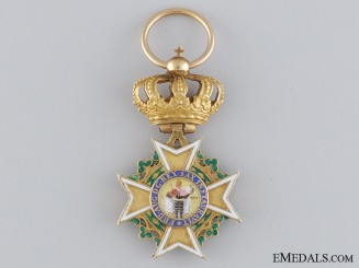 A Fine Napoleonic Period Saxon Order of St. Henry