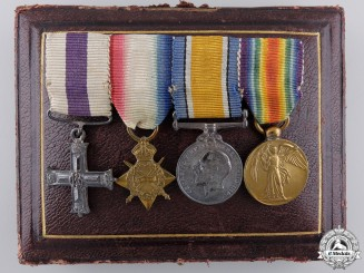 A Fine Period Mounted Military Cross Medal Group