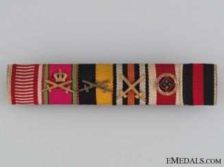 A Fine Six Decoration Ribbon Bar