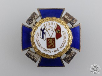 A Finnish 1940-41 North Front Award