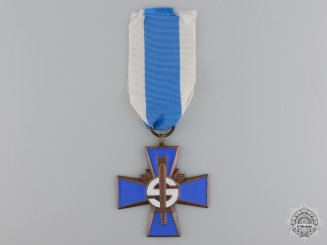 A Finnish Homeguard Volunteer Service Cross