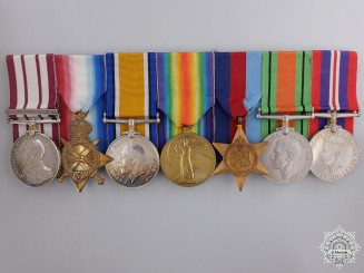 United Kingdom. A Group of Seven Awards to Lieutenant Darbin, Royal Navy
