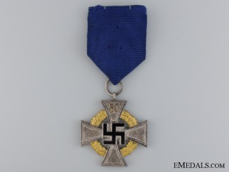 A First Class Faithful Service Cross