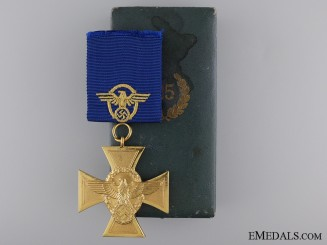 A First Class Police Long Service Cross