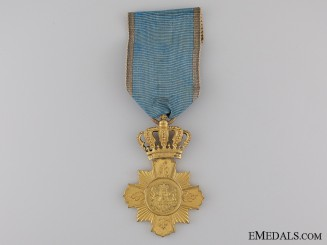 A First Class Romanian Loyal Service Cross