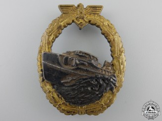 A First Version E-Boat Badge by Schwerin; First Version