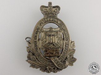 Canada, CEF. A 253rd Infantry Battalion Queen's University Cap Badge