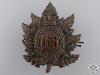 A First War 66th Infantry Battalion Cap Badge CEF