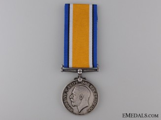 A First War British War Medal to Lieutenant R.B. Menzies