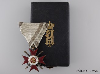A First War Bulgarian Order of Bravery; Fourth Class