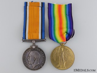 A First War Canadian Medal Pair to an Australian