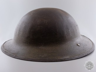 A First War Canadian Brodie Helmet