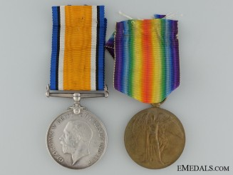 A First War Casualty Pair to the 22nd Regiment KIA