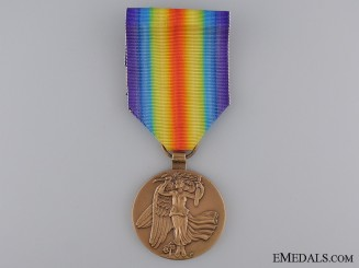 A First War Czechoslovakian Victory Medal; Re-Issue Type