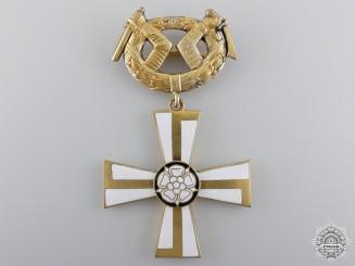 A First War Finnish Order of the Cross of Liberty; 2nd Class
