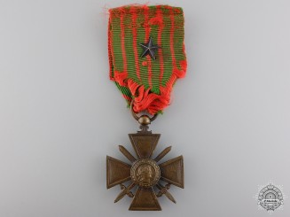 A First War French War Cross