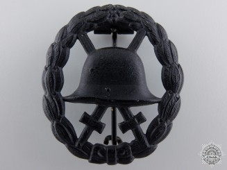 A First War German Imperial Wound Badge; Black Grade