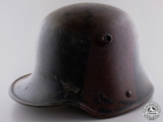 A First War German Army Camouflage Helmet
