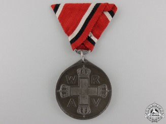 A First War German Red Cross Medal; Third Class