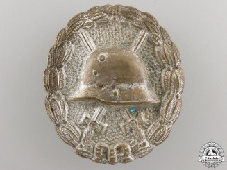A First War German Wound Badge; Silver Grade