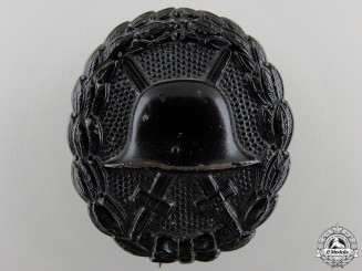 A First War German Wound Badge; Black Grade
