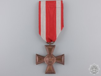 A First War Hessen Military Long Service Cross; 1st Class