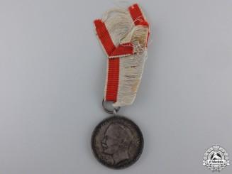 A First War Hessen Silver Bravery Medal