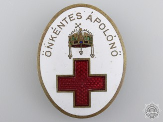 Hungary, Kingdom. A Red Cross Badge, c.1915