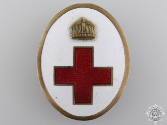 A First War Hungarian Red Cross Members Badge