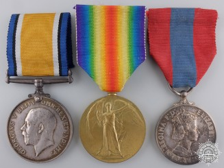 A First War Imperial Service Group to the Royal Engineers