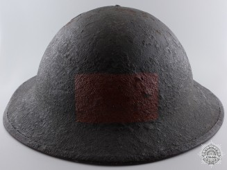 A First War Mark II 1st Battalion Canadian Helmet