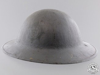 A First War Mark II Royal Canadian Regiment Helmet
