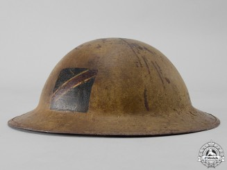 A First War Mark II Royal Canadian Dragoons Helmet
