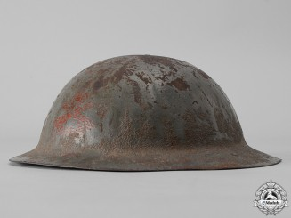A First War Mark I Motorized Machine Gun Corps Helmet