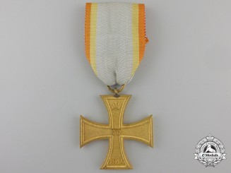 A First War Meckenburg-Schwerin Military Merit Cross 1914